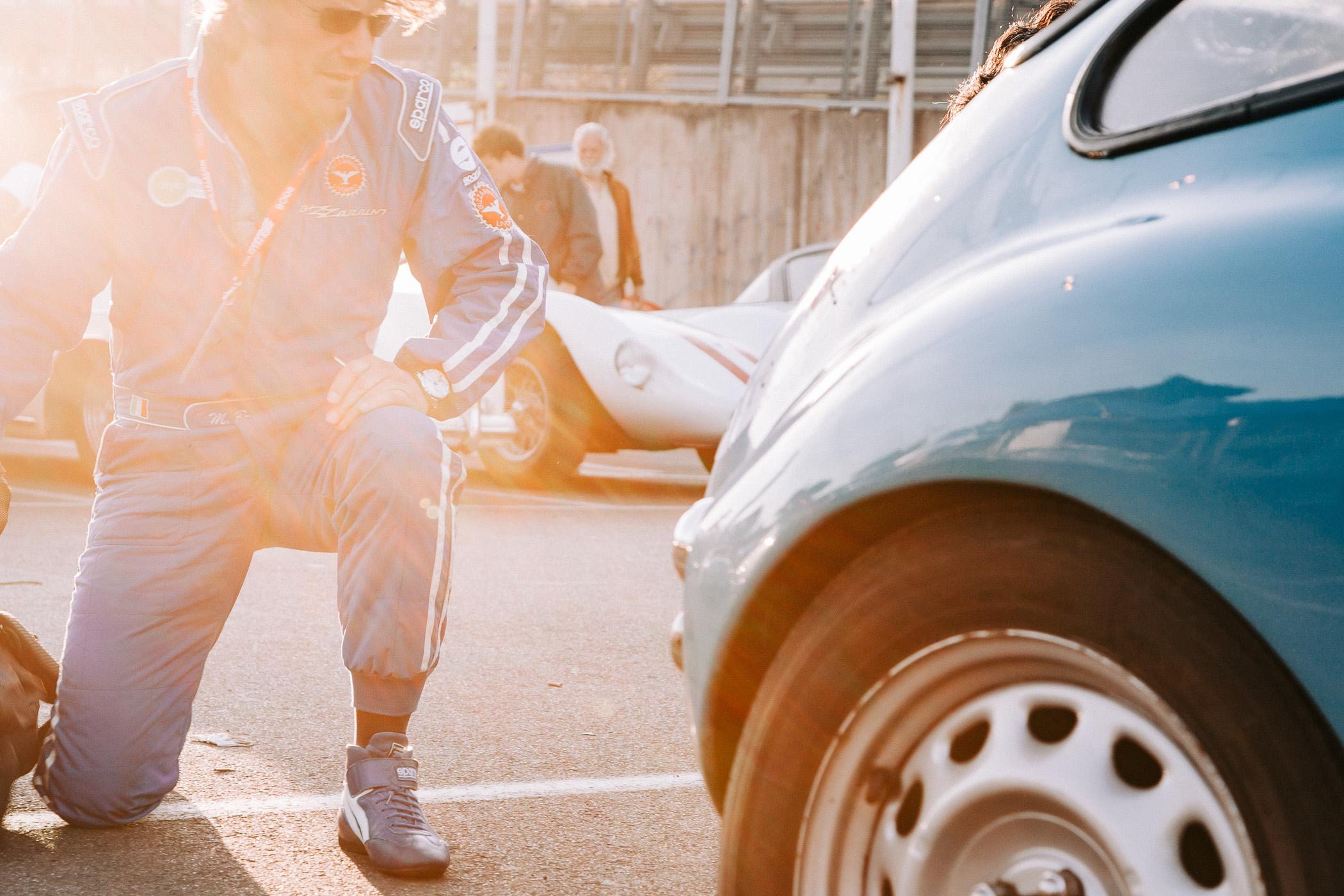Mille Miglia, Florian Kresse, Rennfahrer, Rom, Fiat, Ferrari, Autofotografie